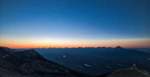 Encroaching Twilight, Jasper Skytram, Jasper National Park, Alberta, Canada