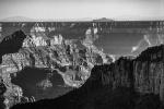 Monochrome Canyon, Bright Angel Point, Grand Canyon National Park, North Rim, Arizona, United States of America