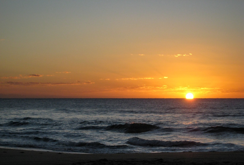 Sunshine Beach Sunrise, Noosa, Queensland, Australia