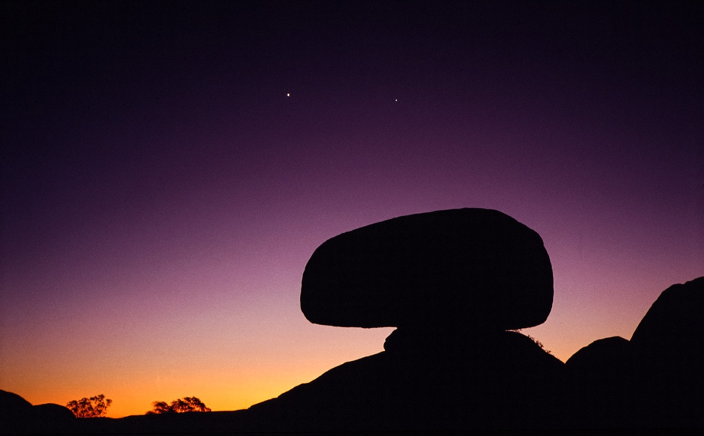 Violet, Devils Marbles, Northern Territory, Australia