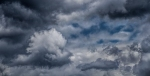Just a Hint of Blue, Clouds and Sky, Port Moody, British Columbia, Canada