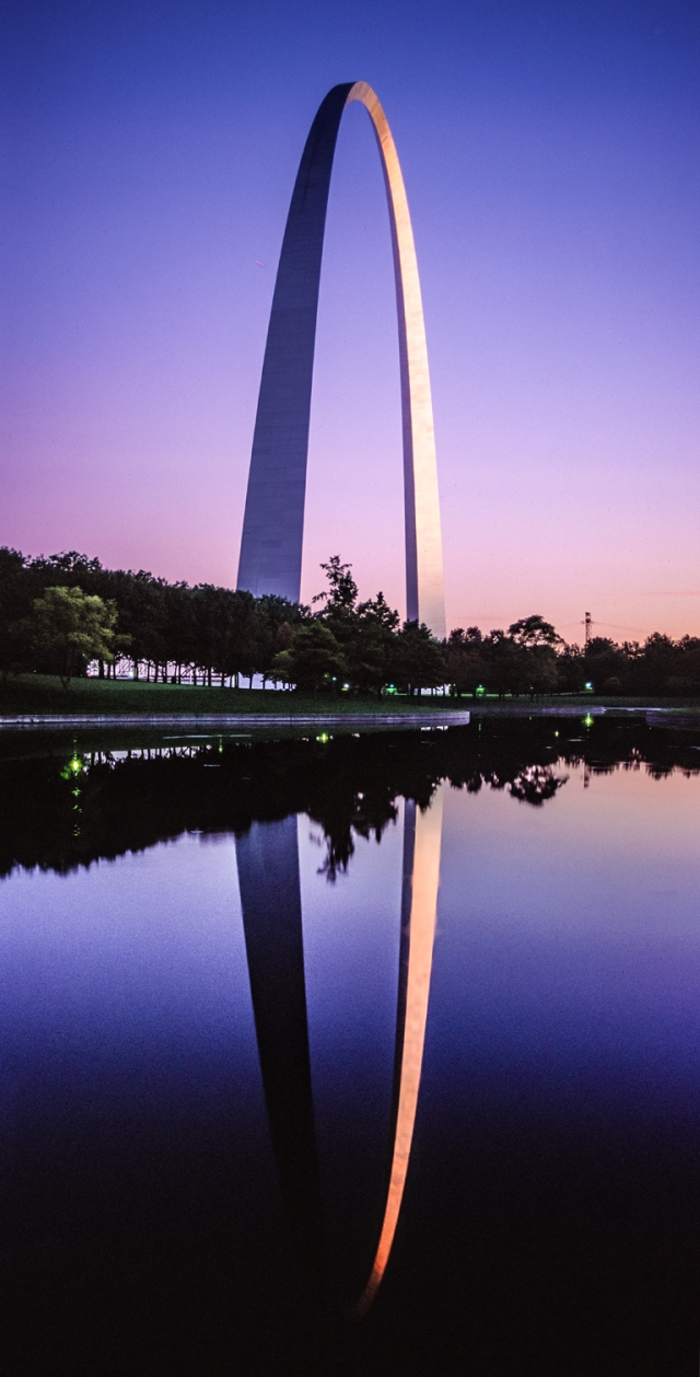 Reflections, Gateway Arch, St. Louis, Missouri, United States of America