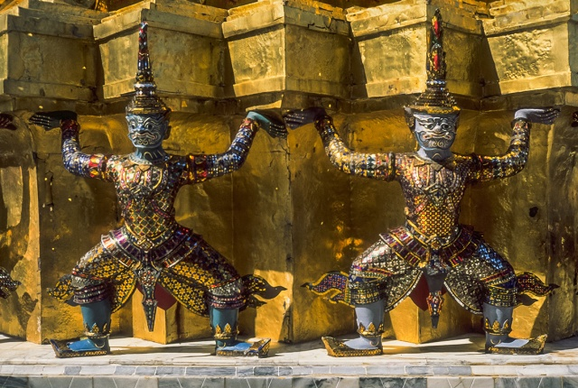 Upon These Shoulders, Grand Palace, Bangkok, Thailand