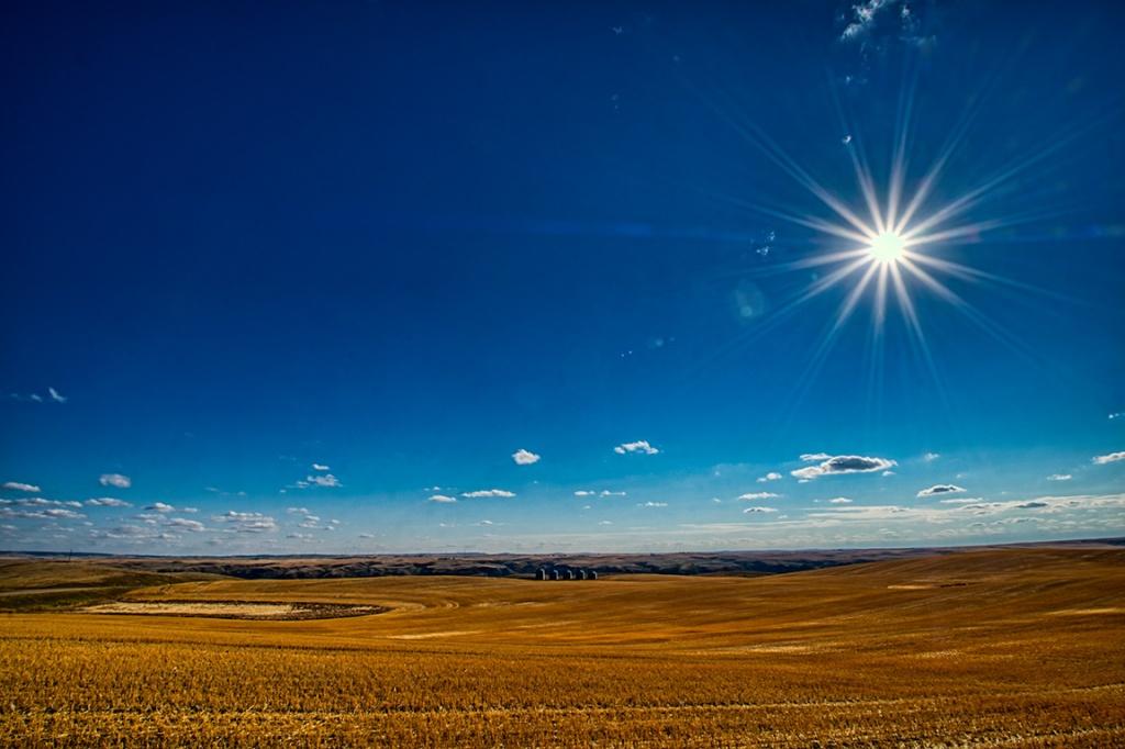 Five Silos, Drumheller, Alberta, Canada