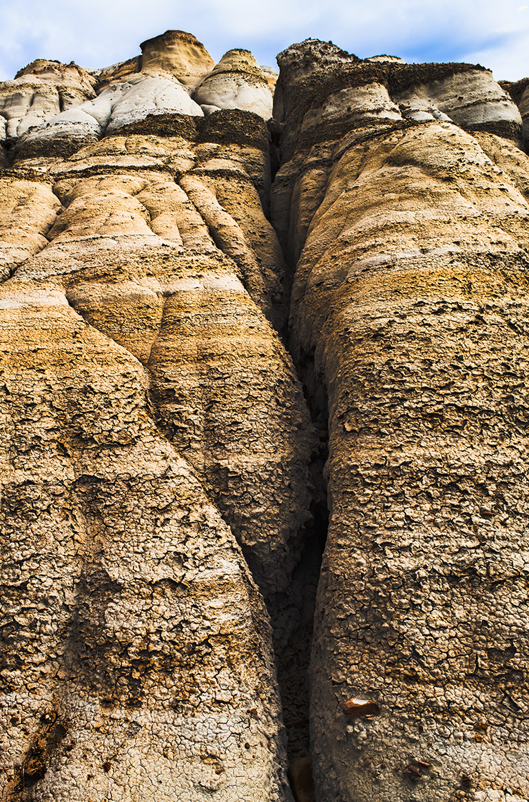 Giants, Badlands, Drumheller, Alberta, Canada