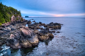 Rugged, Near Ucluelet, Vancouver Island, British Columbia, Canada