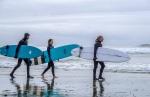 Surf's Up, Chesterman Beach, Tofino, Vancouver Island, British Columbia, Canada