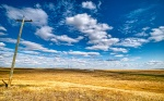 Vanishing Point, Drumheller, Alberta, Canada