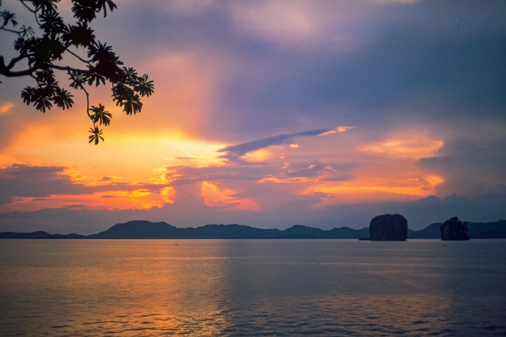 Andaman Sea Sunset, Near Krabi, Thailand
