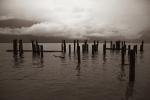 Beleaguered Pier, Britannia Beach, Howe Sound, Sea to Sky Highway, British Columbia, Canada