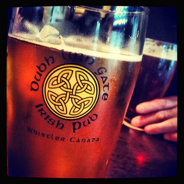 Draft Lager, Dubh Linn Gate Pub, Whistler, British Columbia, Canada