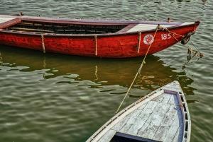 Handmade Boats, Ganges River, Varanasi, Uttar Pradesh, India