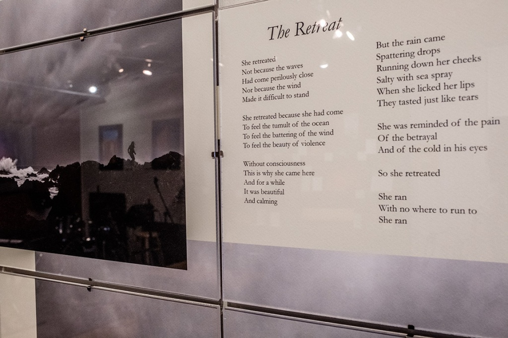 The Retreat, Harmony in Form and Word, Gallery Bistro, Port Moody, British Columbia, Canada