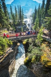 Athabasca Bridge, Athabasca River, Jasper National Park, Alberta, Canada