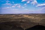 Blackened Earth, Highway G215, Nearing Liuyuanzhen, Gansu Province, China