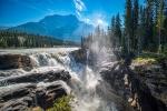 Into the Chasm, Athabasca Falls, Athabasca River, Jasper National Park, Alberta, Canada
