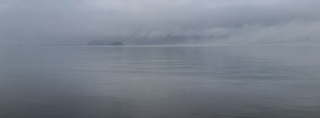 Stillness, Howe Sound, Porteau Cove Provincial Park, Sea to Sky Highway, British Columbia, Canada