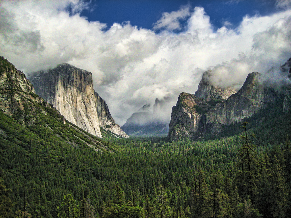 Perfect Valley, Yosemite National Park, California, United States of America