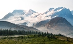 mount athabasca, jasper national park, alberta, canada
