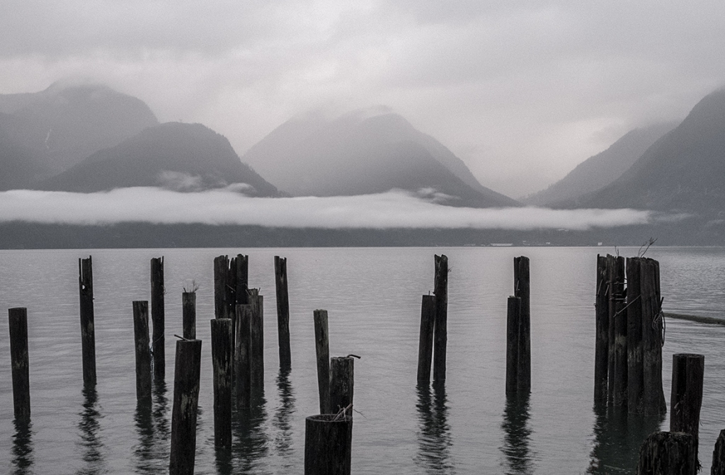 the susurrus of grey, britannia beach, howe sound, sea to sky highway, british columbia, canada ii
