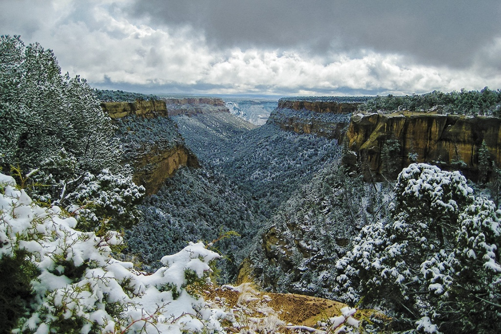 winter mesa, mesa verde national park, colorado, united states of america copy