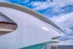 Abstract Fish, Palau De Les Arts, Ciutat de les Arts i les Ciències, Valencia, Spain