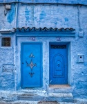 Blue Doors, Chefchaouen, Morocco