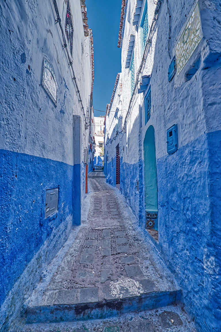 Confined Spaces, Chefchaouen, Morocco