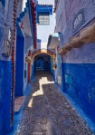 Filtered Light, Chefchaouen, Morocco