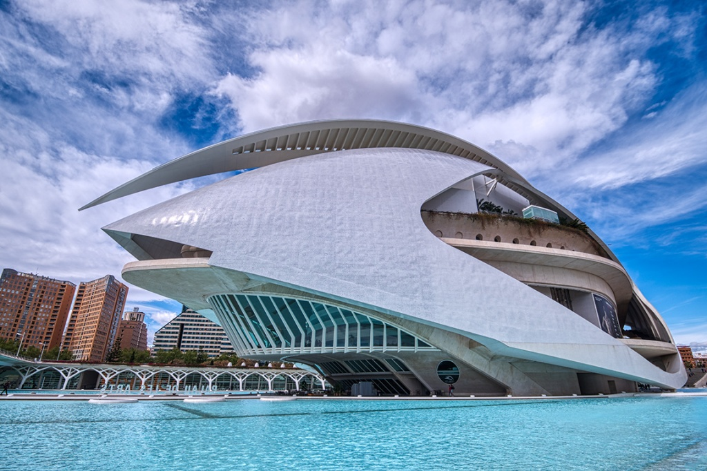 Palau De Les Arts, Ciuitat De Les Arts I Les Sciences, Valencia, Spain c