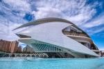 Palau De Les Arts, Ciuitat De Les Arts I Les Sciences, Valencia, Spain c