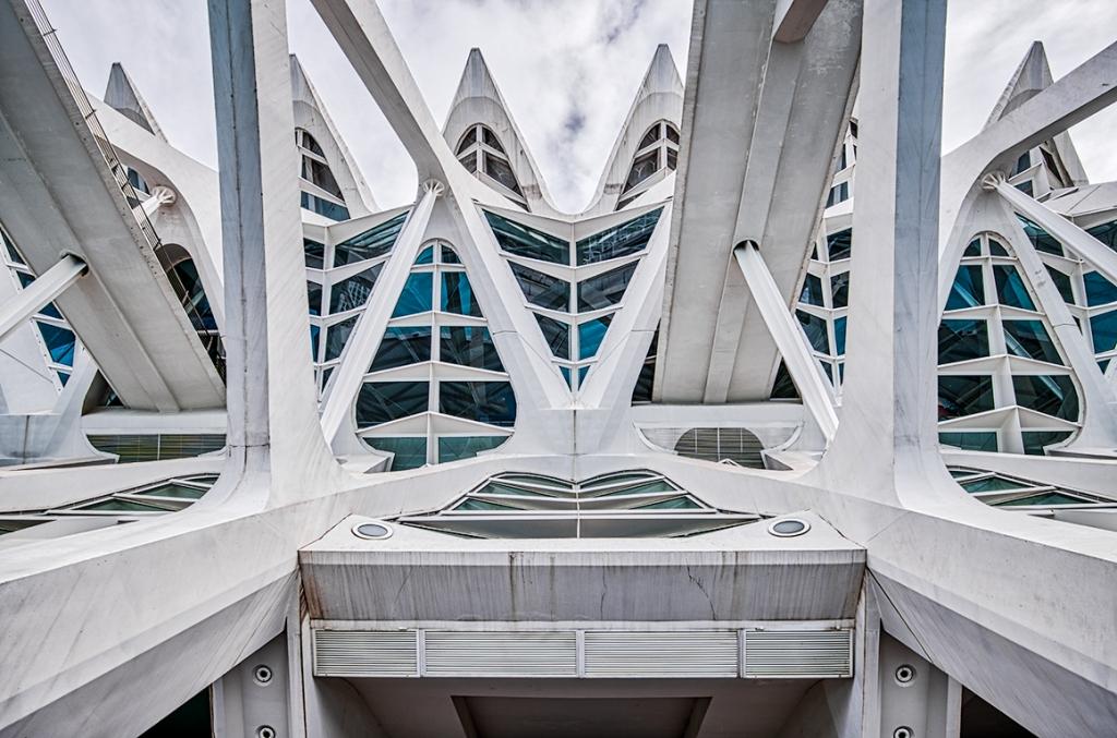 Patterns, Museu de les Ciències, Ciutat de les Arts i les Ciències, Valencia, Spain
