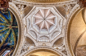 Saints and Angels II, Domes, Valencia Cathedral, Spain
