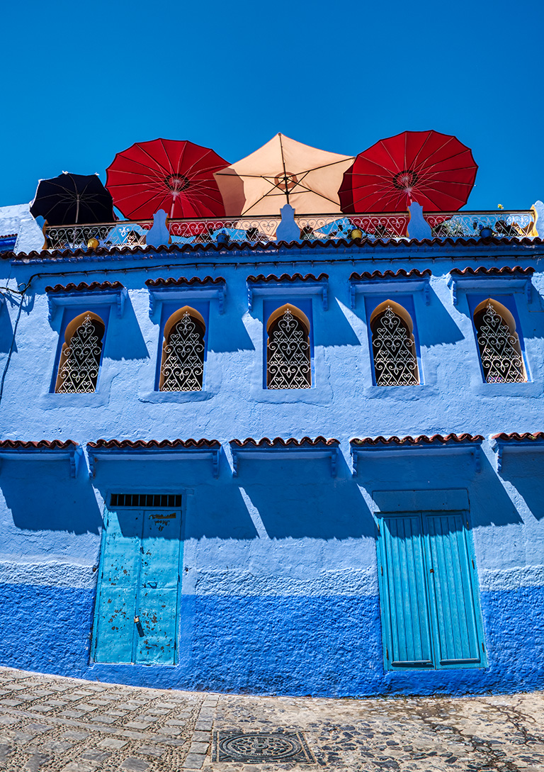 Shadow Making, Chefchaouen, Morocco