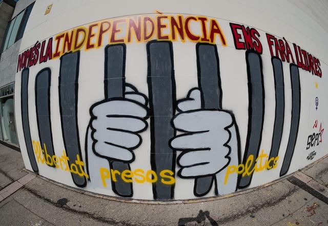 Catalunya Political Graffiti, Universitat Autònoma de Barcelona (UAB), Cerdanyola de Valles, Catalunya (Catalonia), Spain II