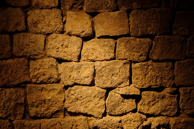 Roman Walls, Museum of the History of Barcelona, Gothic Quarter, Barcelona, Catalonia, Spain