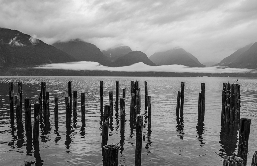 Into the Grey, Britannia Beach, Howe Sound, Sea to Sky Highway, British Columbia, Canada