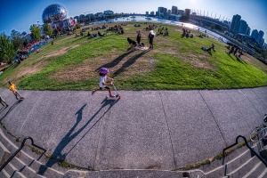 Child's Play, Creekside Park, Vancouver, British Columbia, Canada