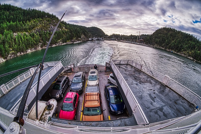 Departing for Departure Bay, Queen of Cowichan, Horseshoe Bay, British Columbia, Canada