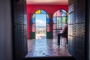 Waiting, Hotel Continental, Tangier, Morocco