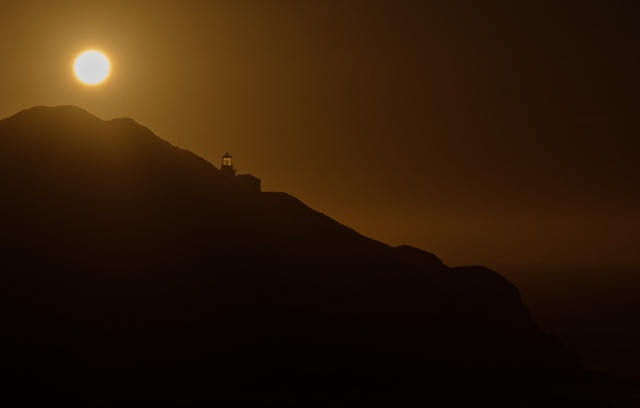 Backlight, Point Sur State Historic Park, Big Sur, Pacific Coast Highway, California, United States of America