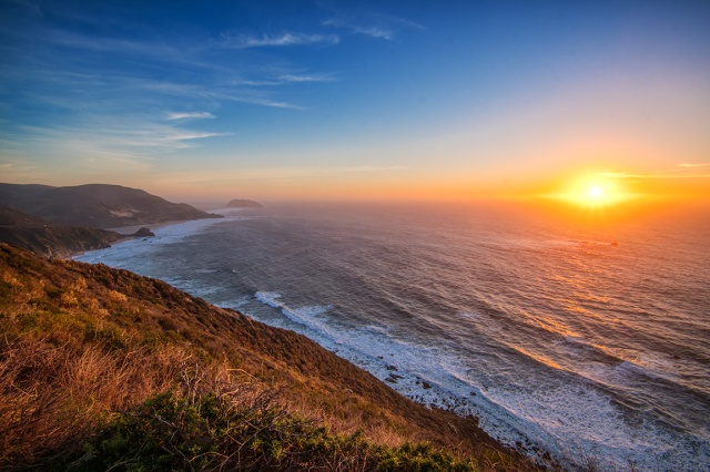 Golden Glory, Pacific Coast Highway, California, United States of America
