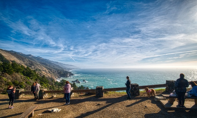 Viewpoint, Pacific Coast Highway, Southern California, United States of America