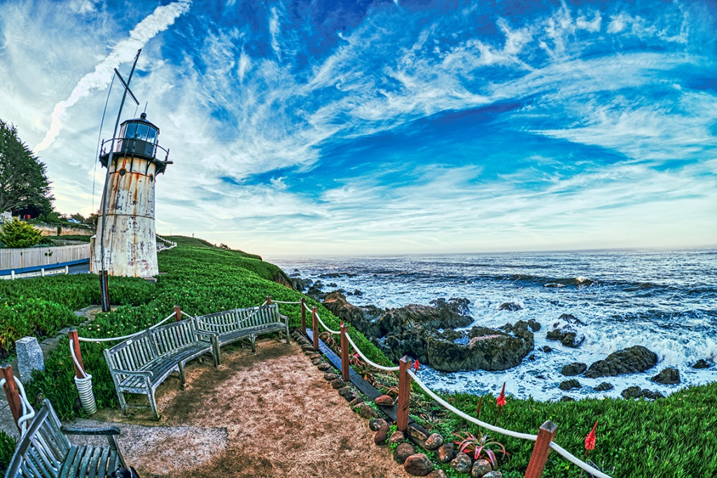 Watching Over Us, Point Montara Lighthouse, Montara, California, United States of America