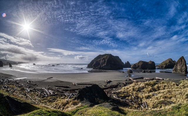 Beautiful World, Gold Beach, Oregon Coast Highway, Oregon, United States of America