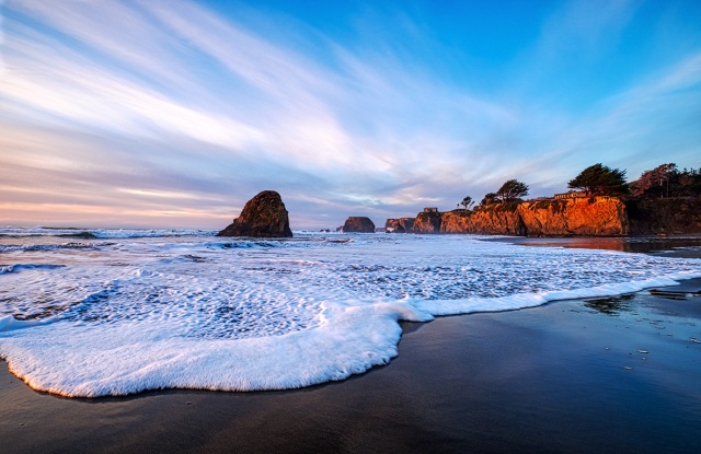 Beckoning, Seaside Creek Beach, Mendocino County, Pacific Coast Highway, California, United States of America