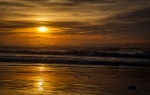 Come Hither, Whispered the Sun, Seaside Creek Beach, Mendocino County, Pacific Coast Highway, California, United States of America