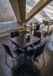 Empty Cafe, Museu de les Ciències, Ciutat de les Arts i les Ciències, Valencia, Spain