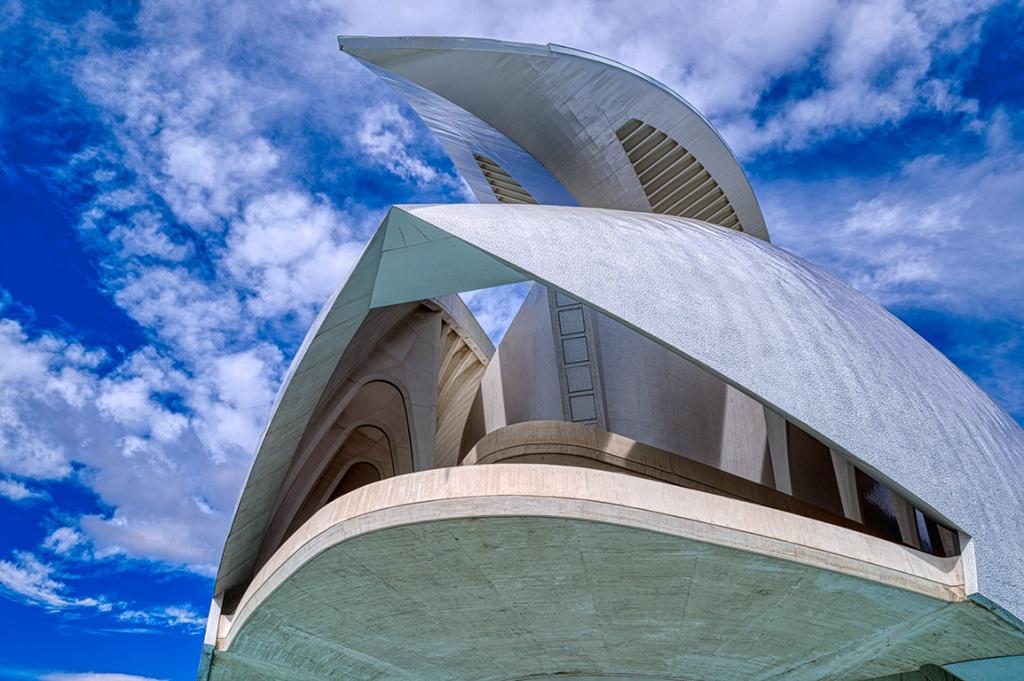 Flight of Fantasy, Palau de les Arts Reina Sofia, Ciudad de las Artes y las Ciencias, Valencia, Spain
