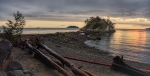 Perfect Sunset, Whytecliff Park, West Vancouver, British Columbia, Canada